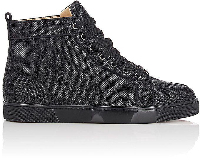 new product cc0e1 c5a15 Christian Louboutin Men's Rantus Orlato Flat Sneakers | Mens ...