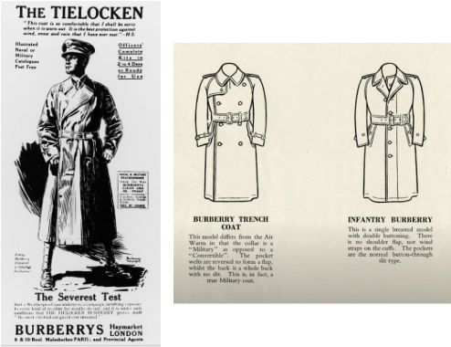 Burberry Trench Coat History Burberry History And Labels
