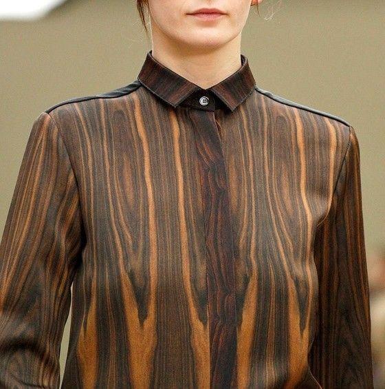 Celine woodprint shirt