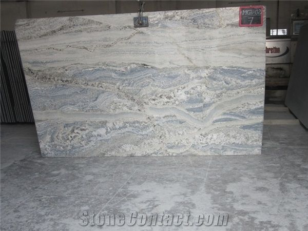 Monte Cristo Granite Slabs India White Granite Granite Slab