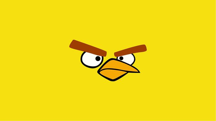 Yellow Bird Angry Birds Games And Hd Wallpapers Spiele Angry Birds Spiele Spiele Online