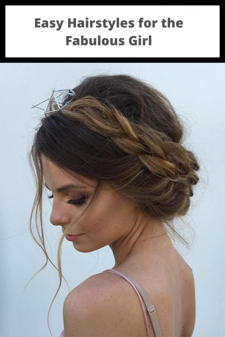 Easy Hairstyles For The Fabulous Girl Hair Styles Easy Hairstyles Hair Techniques