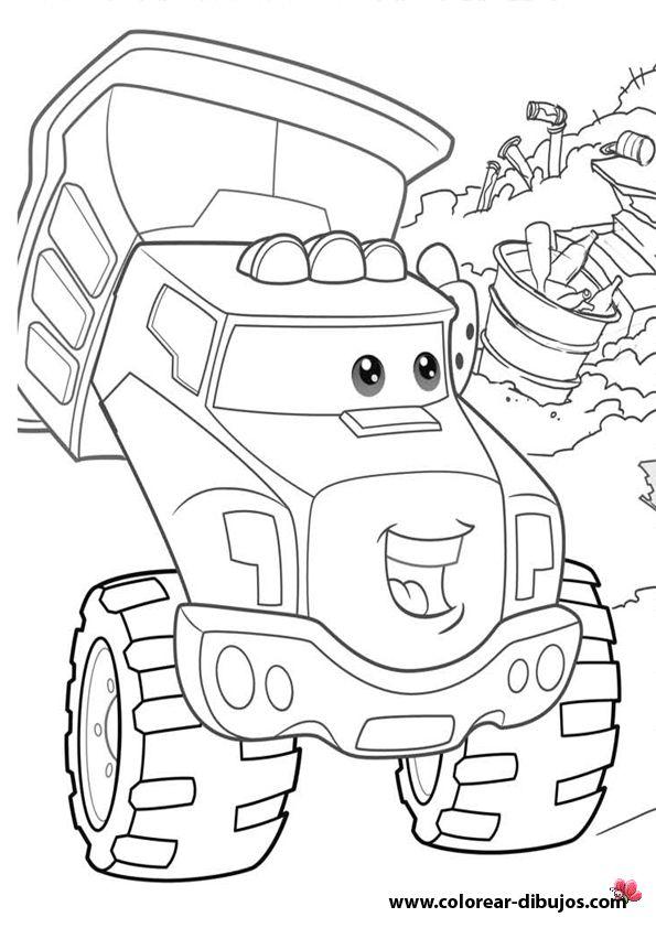 chuck y sus amigos para colorearchuck dibujos desenho