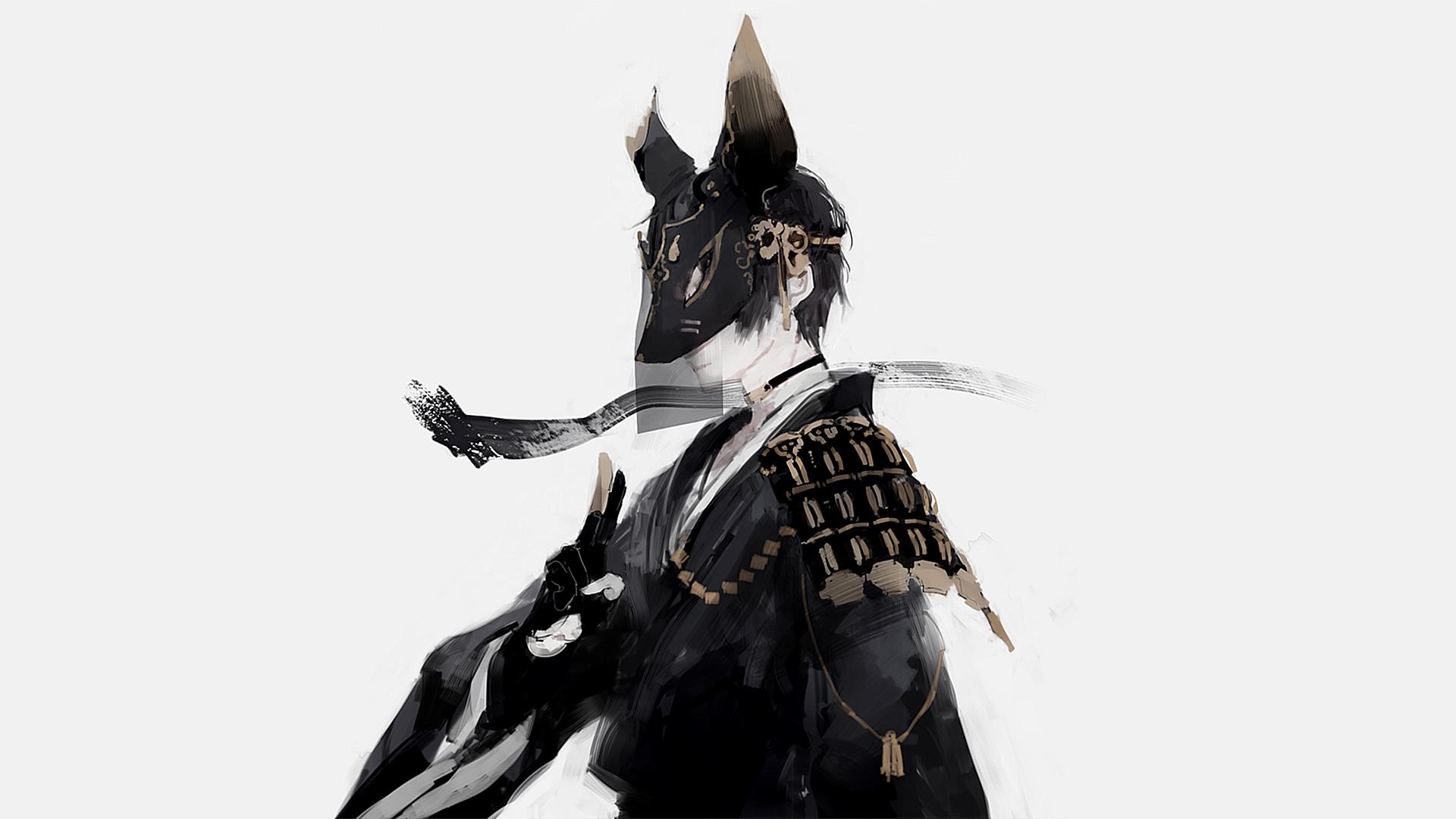Black Fox, HQ Backgrounds ศิลปะคาแรคเตอร์, การวาด