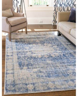 Agostina Ago1 Navy Blue 8 X 10 Area Rug Products In 2019