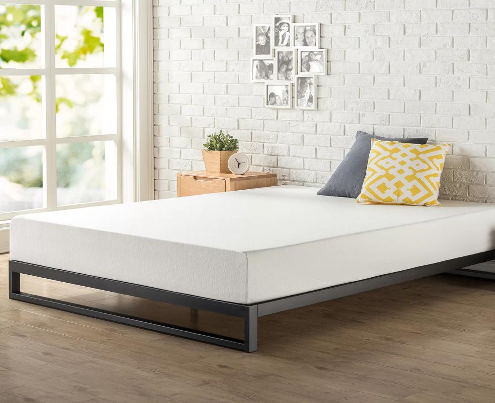 Hanley 7 Bed Frame In 2021 Platform Bed Frame Bed Frame Mattress Bed Frame Sizes Do platform beds require box springs