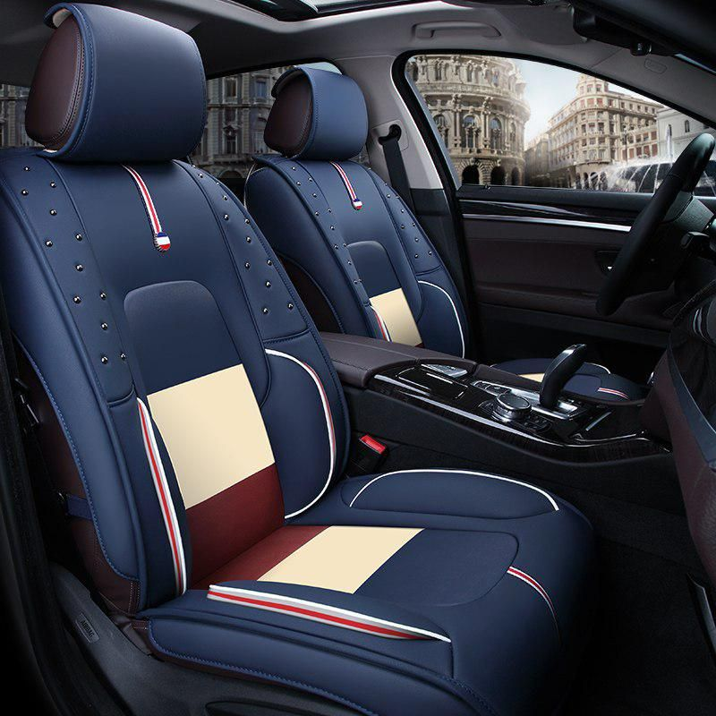 3d car seat cover general cushion high fiber leather car styling for rh pinterest com