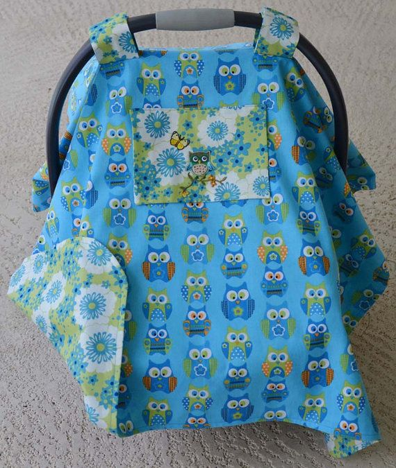 Baby Car Seat Canopy Infant Car Seat Cover Owl Baby Car Seat Cover Blue Car Seat Canopy & Baby Car Seat Canopy Infant Car Seat Cover Owl Baby Car Seat Cover ...