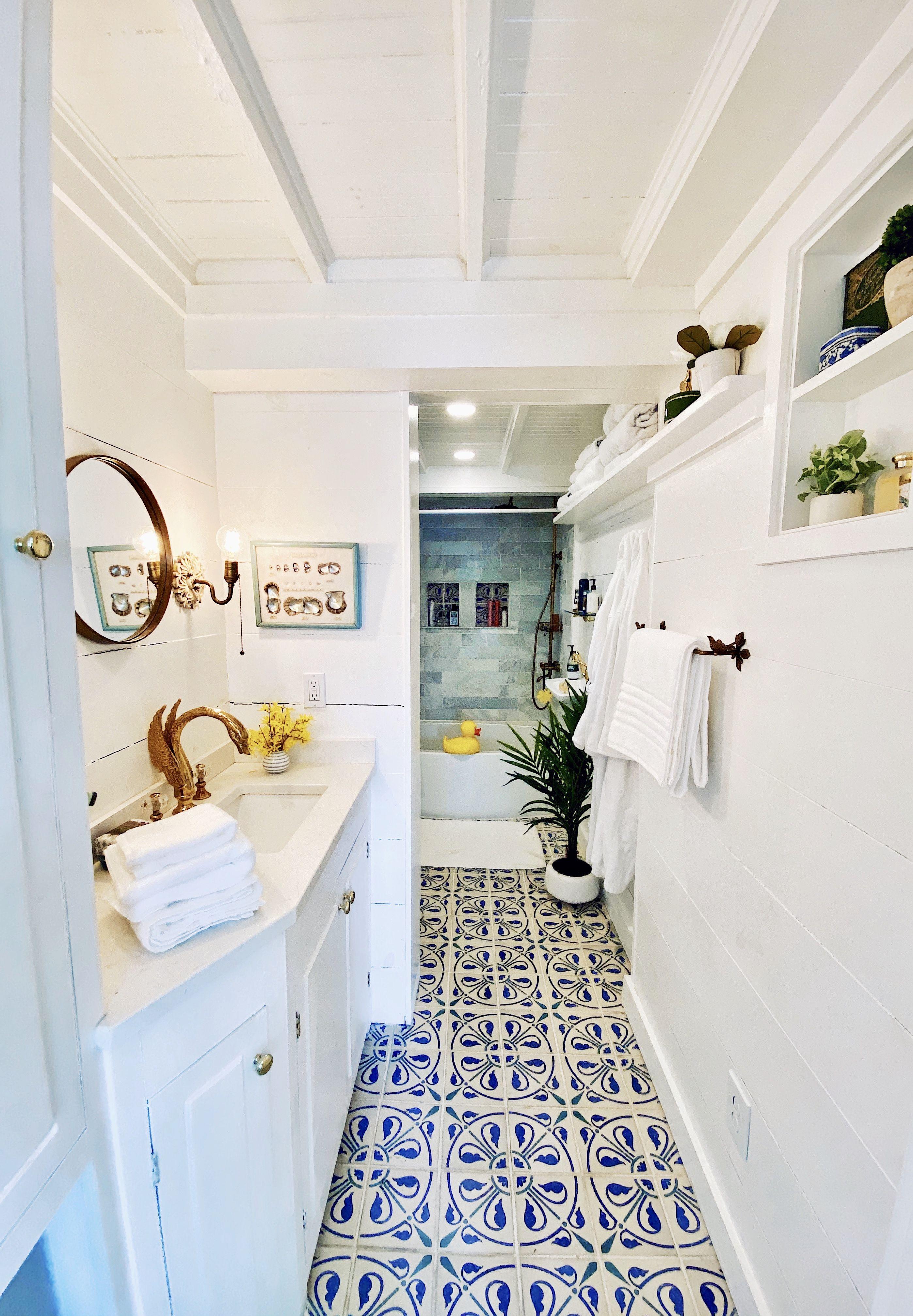 Lakehouse Bathroom Classy Girls Wear, Lake House Bathroom Wall Decor
