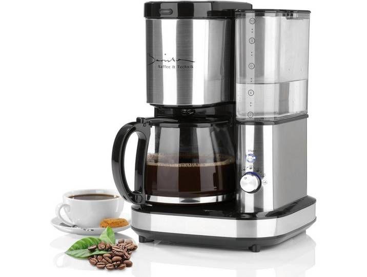 Kaffeemaschine Mit Mahlwerk 800w Edelstahl Schwarz Silber