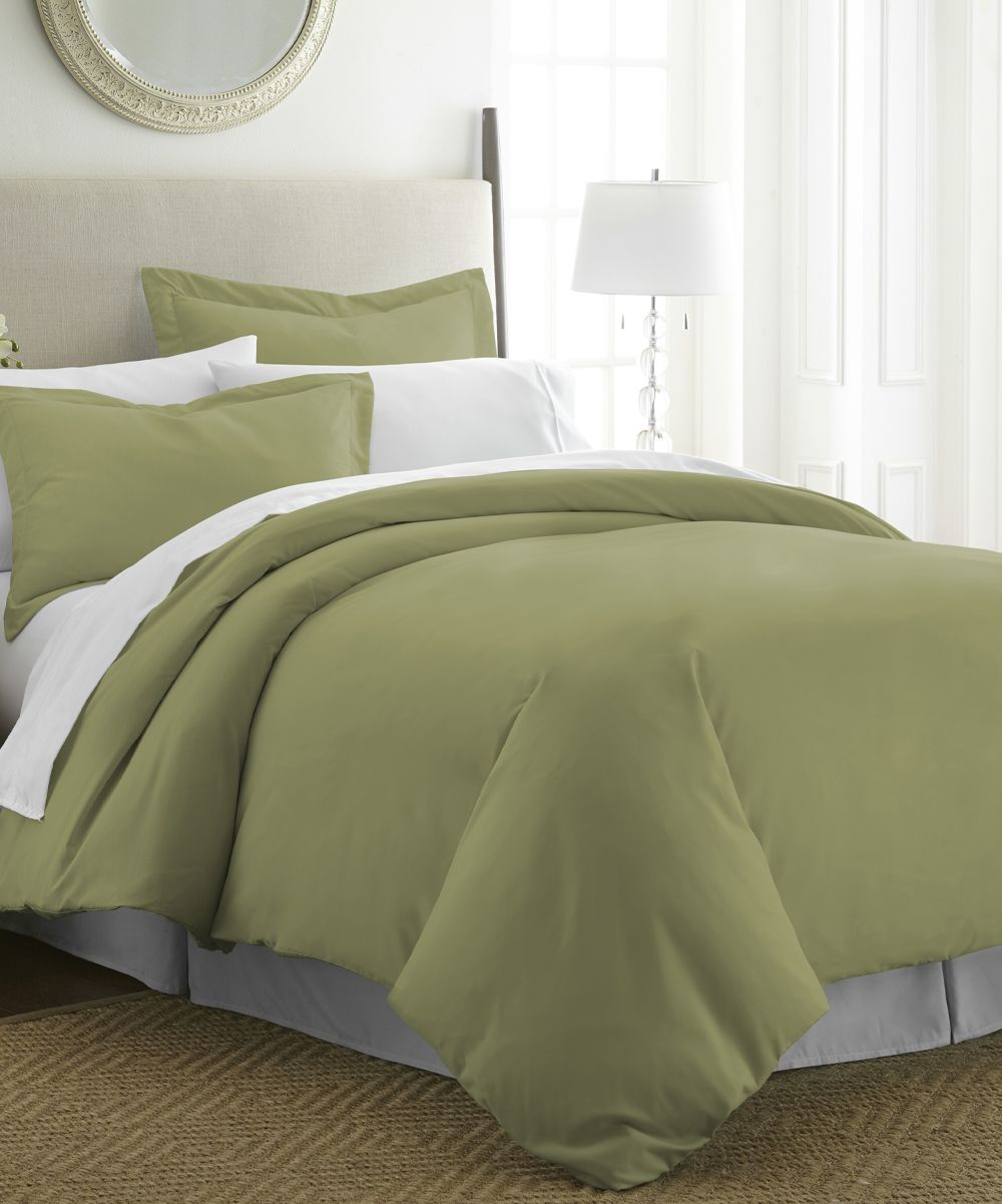 Soft Duvet Covers Sage Ultra Soft Three Piece Duvet Set Products Pinterest