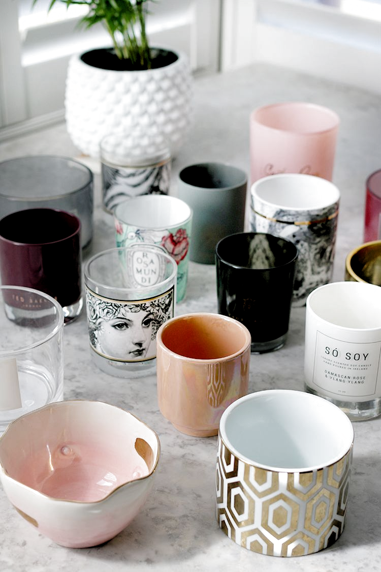 10 Clever Ways to Reuse Your Old Candle Jars #diy #candles #upcycle