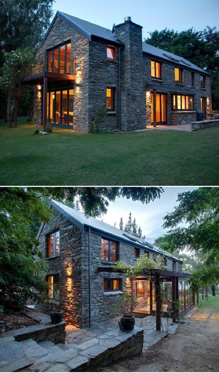 Stone houses  advantages and disadvantages of houses with stone facades