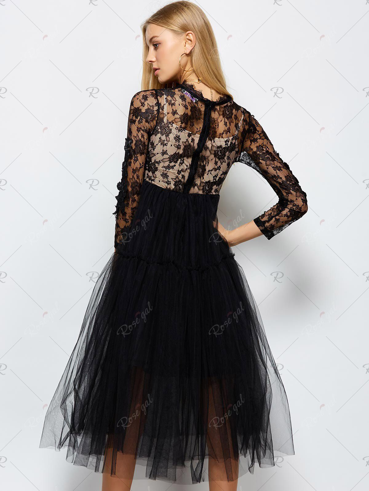 Best Shoes for Lace Cocktail Dress