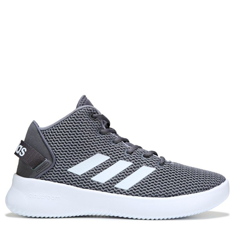 Adidas Men s Cloudfoam Refresh High Top Sneakers (Grey White) b3987d974