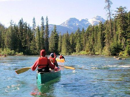 Bowron Lakes Canoe Circuit Lake Kayaking Canoe Canada Canada Tour