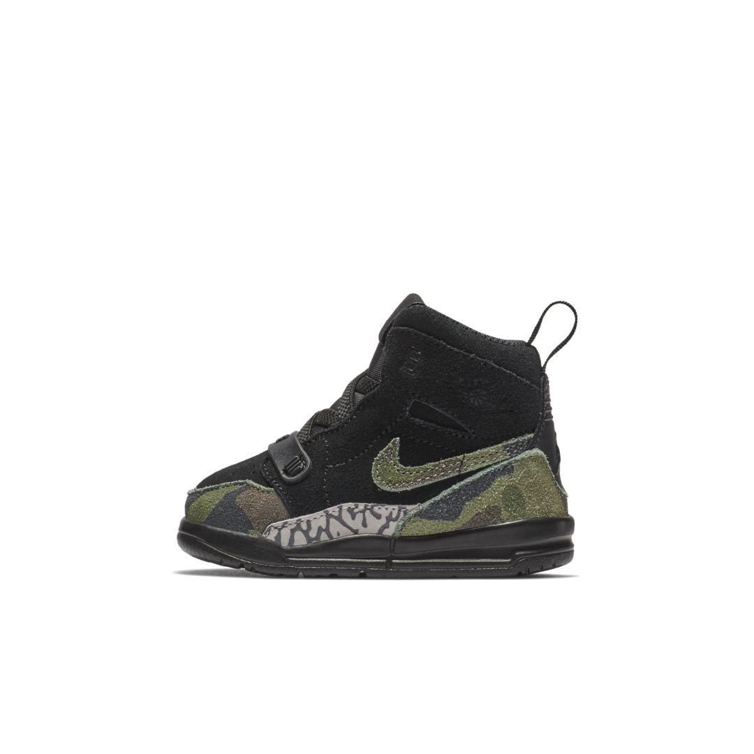 half off f3a17 5965d Air Jordan Legacy 312 Infant Toddler Shoe Size 2C (Black)