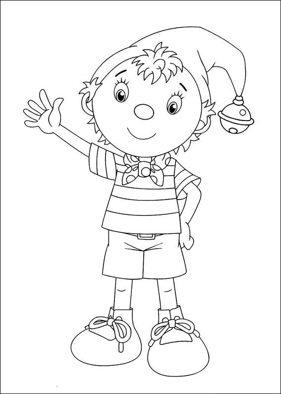 Noddy Coloring Pages 2 Coloring Books