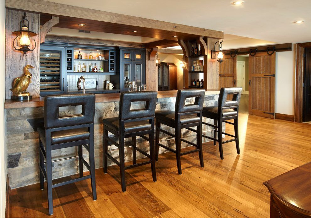 Home Bar Flooring Ideas - The Ground Beneath Her Feet