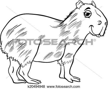 Pin Op Capybara