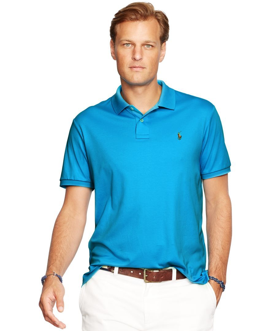 f4809a57 Polo Ralph Lauren Pima Soft-Touch Polo Shirt | Stylin' | Polo, Polo ...