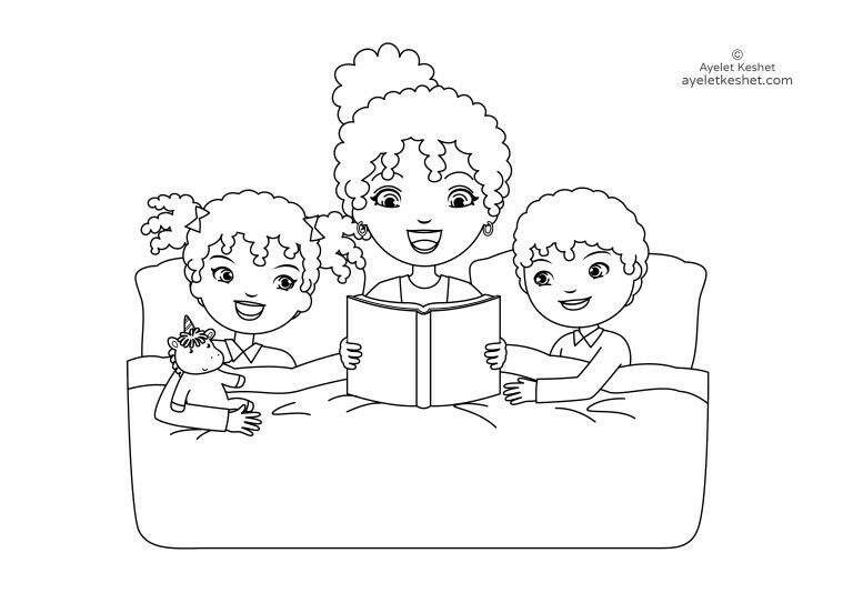 Free Coloring Pages About Family That You Can Print Out For Your Kids Family Coloring Pages Elsa Coloring Pages Bee Coloring Pages