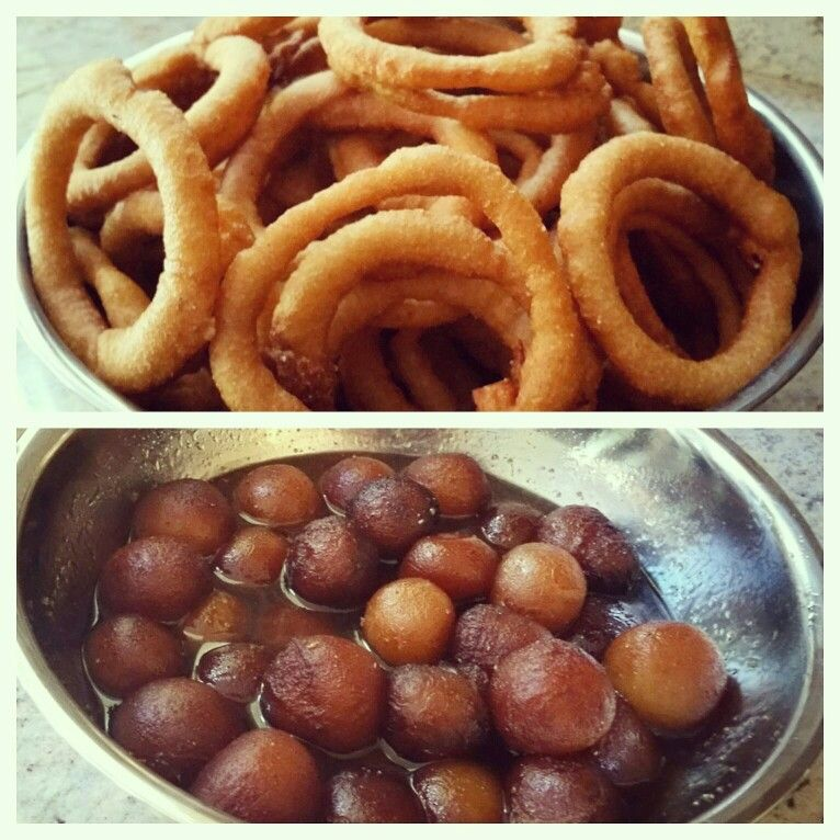 traditional nepali food selroti and sweet dish lalmohn