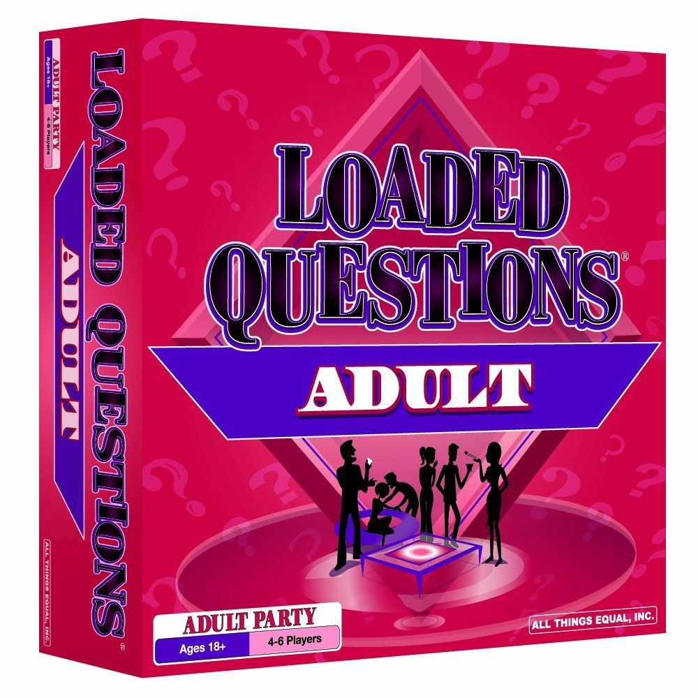 Loaded Questions Adult Version Kate S Bachelorette Party