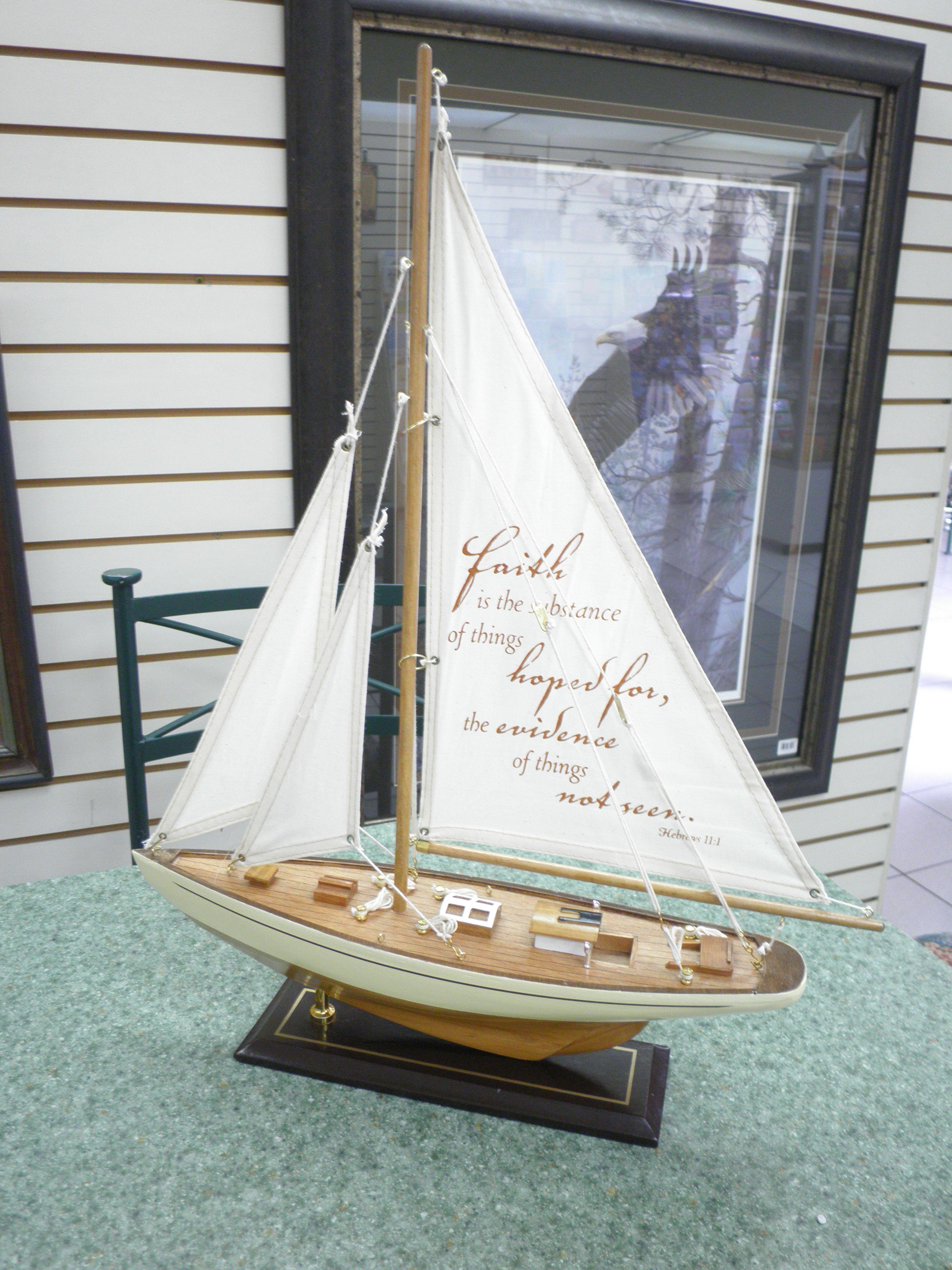 #Barco de madera con mensaje. #Bisel