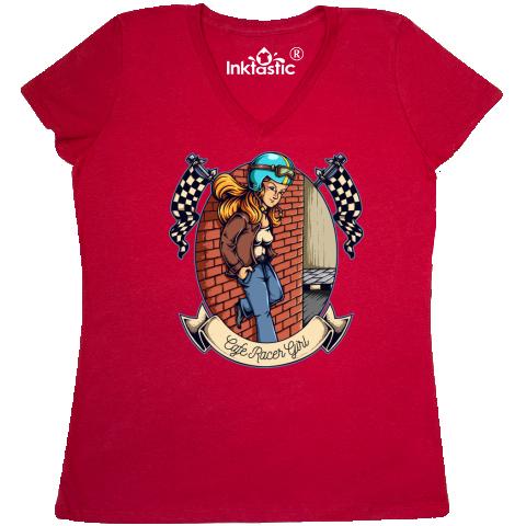 inktastic Cafe Woman Racer Toddler T-Shirt
