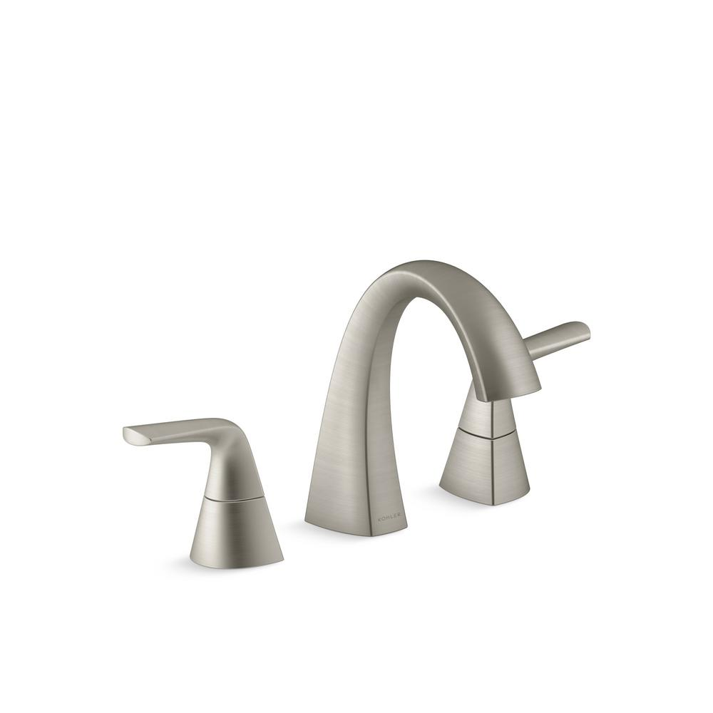 Moen Hensley 8 In Widespread 2 Handle Bathroom Faucet In Spot