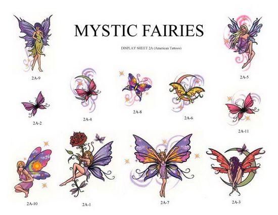 Mystical Fairies Tattoos Fairy Tattoo Fairy Tattoo Designs Small Fairy Tattoos