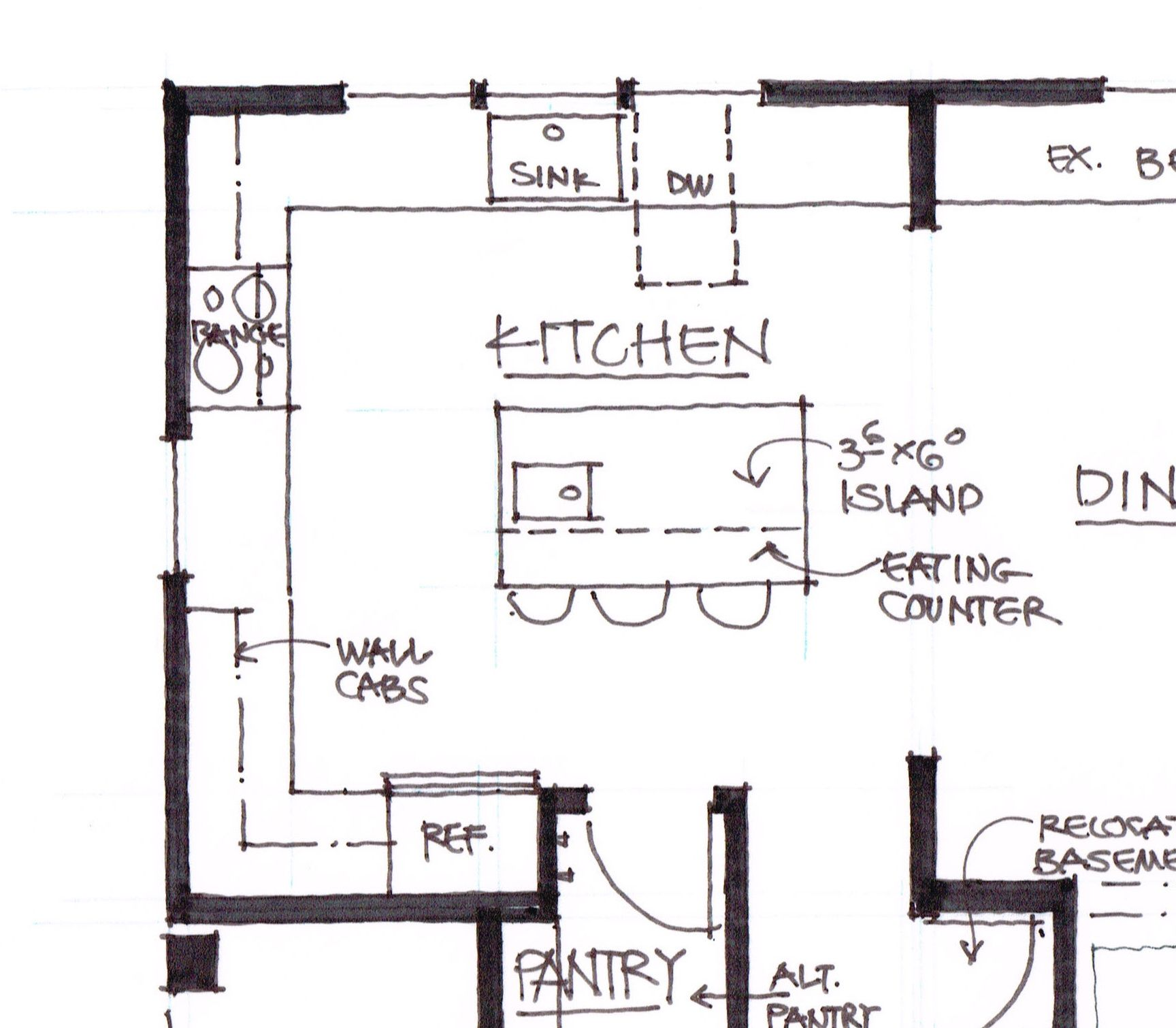 Kitchen Design Plans With Island kitchen floor planssize - kitchen island dimensions with