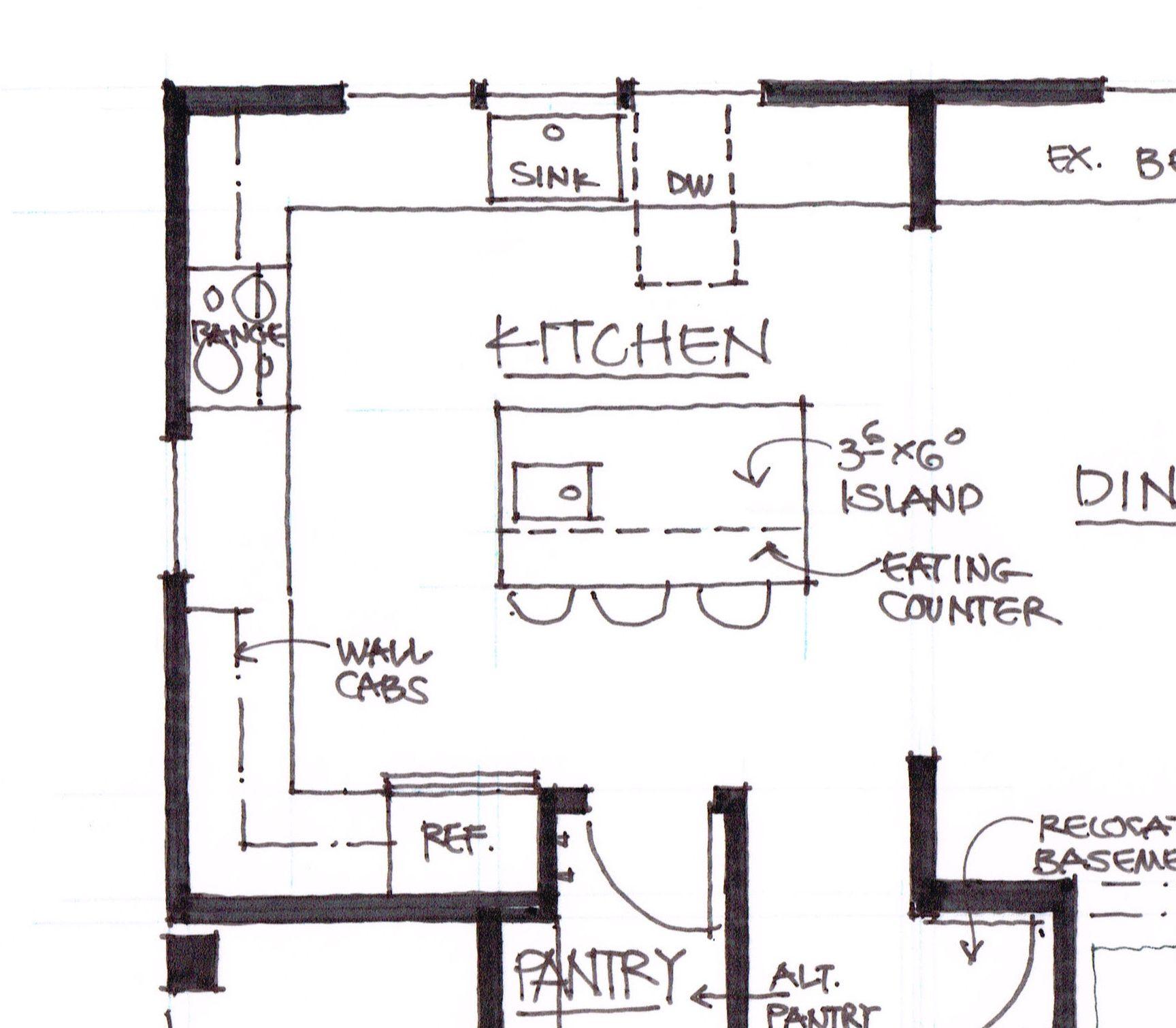 Small Kitchen Kitchen Floor Plan With Dimensions   Novocom.top