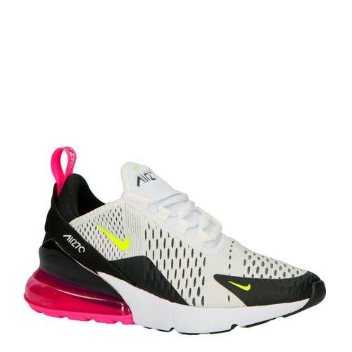Air Max 270 sneakers wit - Sneakers nike, Nike sneakers en ...