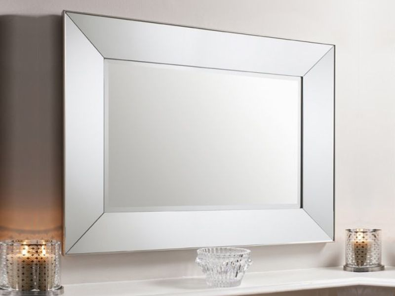 Vasto Rectangular Mirrored Frame Wall Mirror Contemporary Large Mirrors Uk Oversized Mirrors Hallway Mirror Large Rectangle Mirror Mirror Wall