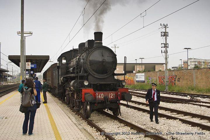 Romagna_Express_2019_Cesena_Gr640_Centoporte_IMGP8232p - Treno per la candidatura di Ravenna a Capitale Europea della Cultura #trenovapore http://buff.ly/2lPc08d