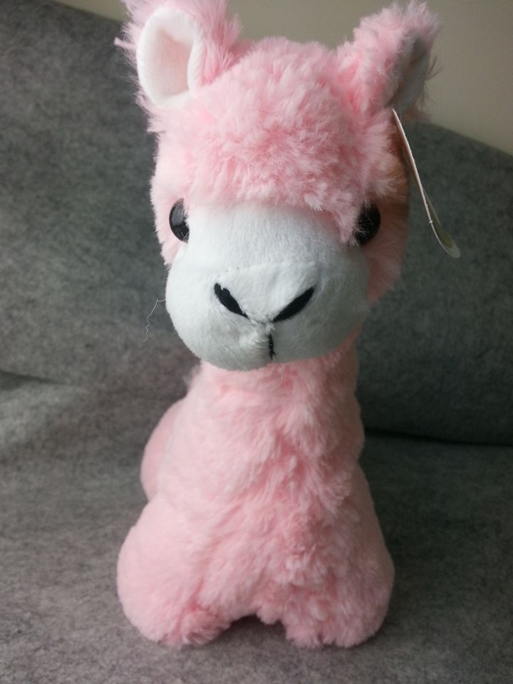 10 99 Big Large Alpaca Llama Soft Plush Furry Beanie Animal