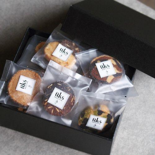 個包装 クッキーアソート【ギフトボックス(S) 20個入り】 持ち運び用の手提げ付き | üks (ユクス) powered by BASE