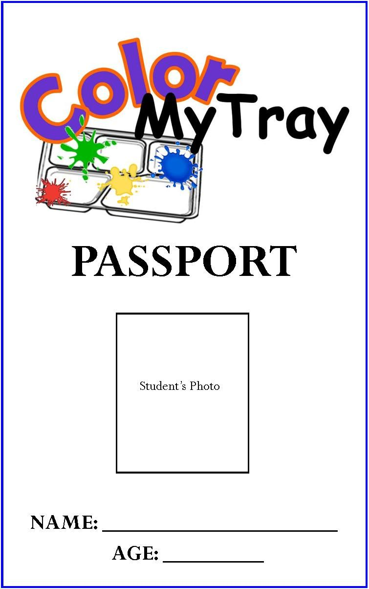 Passport Coloring Page | Coloring for Kids | Color, Free ...