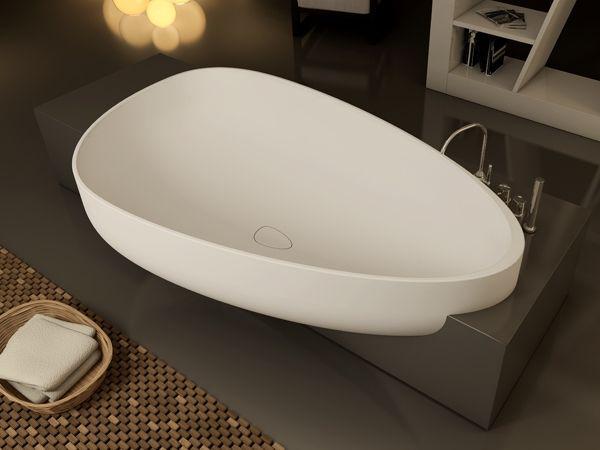 Vasca Da Bagno Kuvet : Vasca da bagno in pietraluce beyond collezione livin by glass