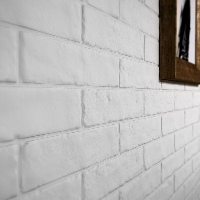 Castle Brick White Faux Brick Tiles White Porcelain Tile White Brick Backsplash