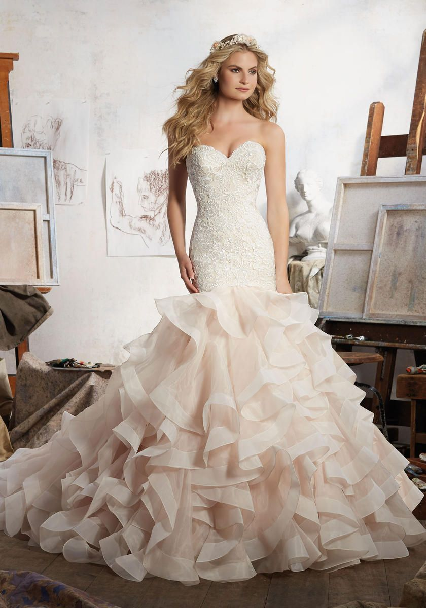 Mori Lee Bridal style 8111. The name of this Morilee Bridal gown is ...