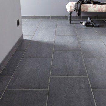 Carrelage Sol Et Mur Noir Effet Pierre Trevise L30 X L604