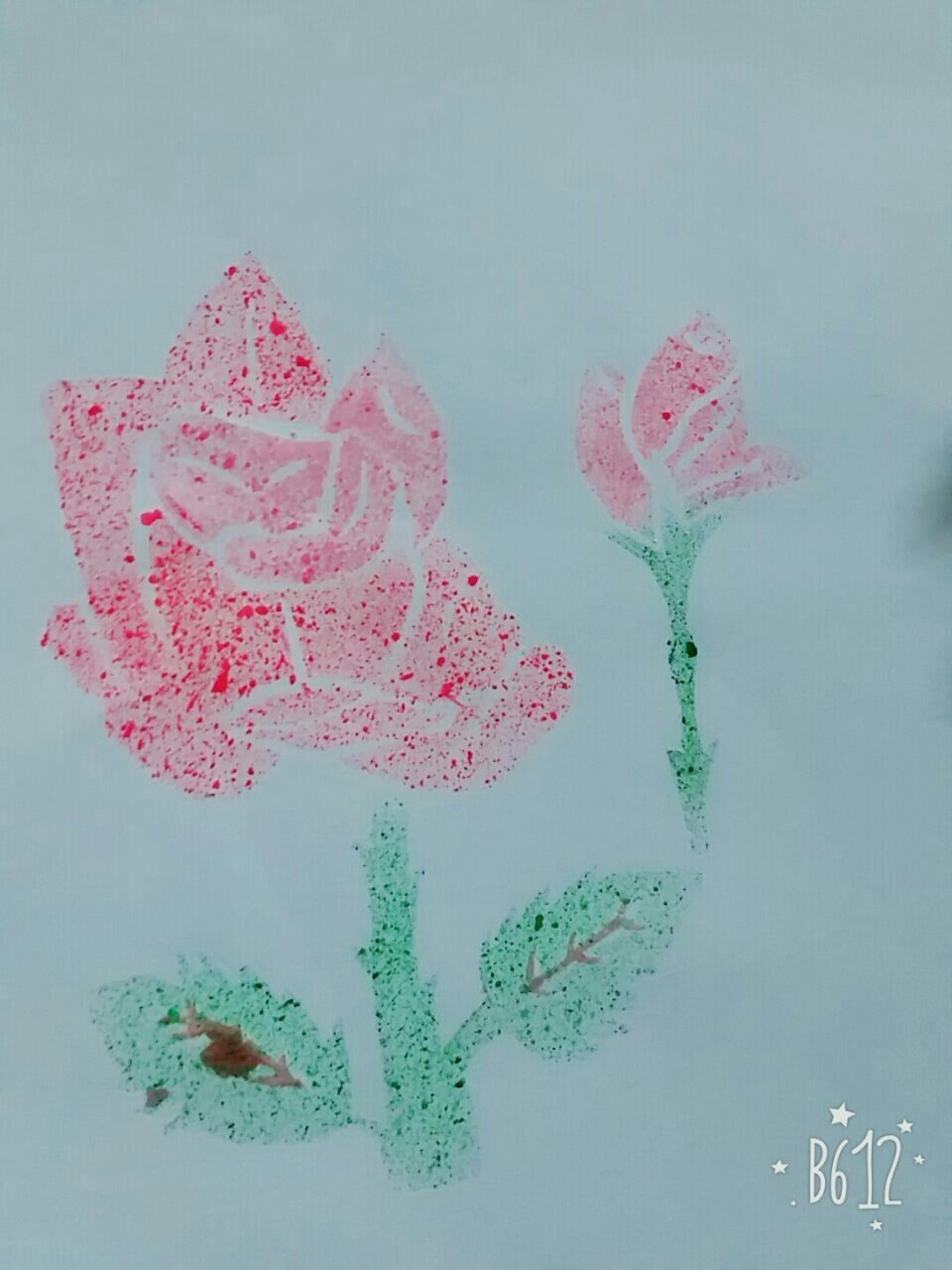 Spray Paint With Toothbrush Creative Crafts Creative Crafts