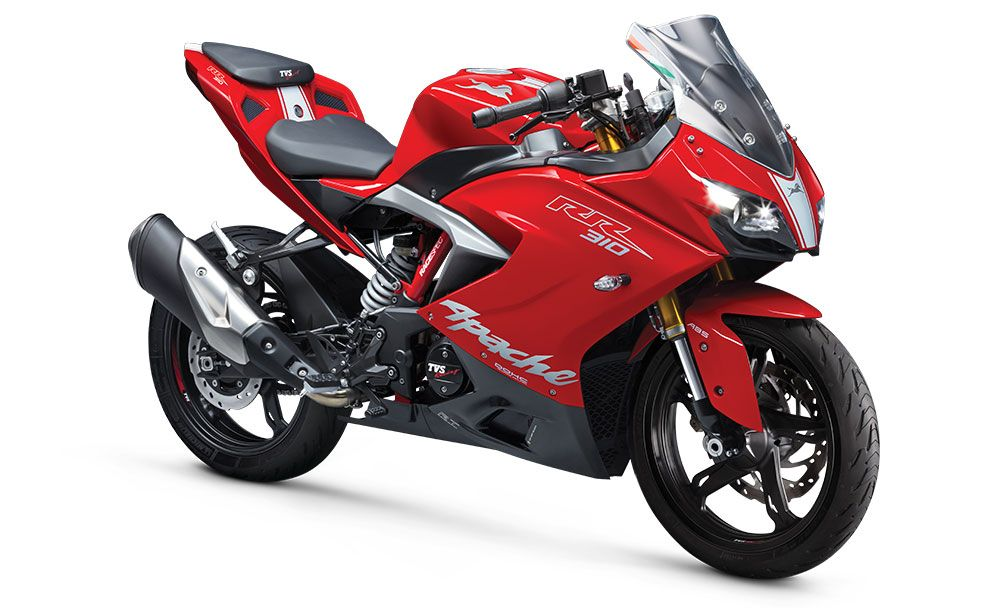 2020 Tvs Apache Rr310 Bs6 Model Launched At Rs 2 4 Lakhs In 2020 Apache Bike India Tvs