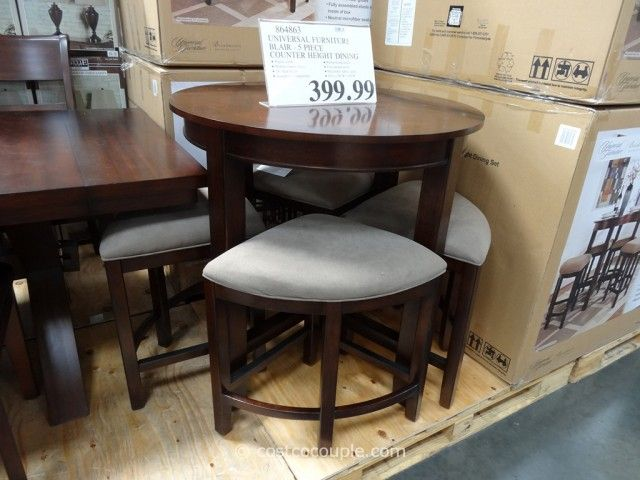 universal furniture blair counter height dining set costco | for