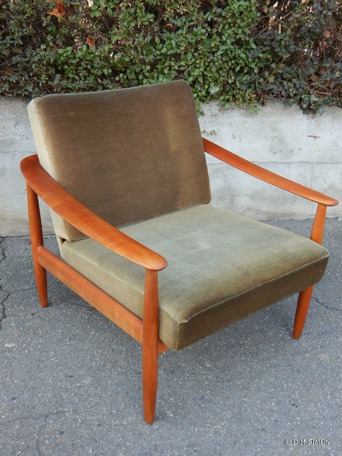 Easy Chair Sessel Sessel Easy Chair Kirsche Knoll Mid Century 60er