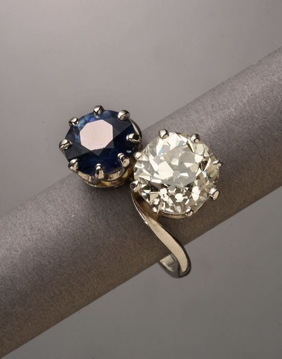 Bypass Ring Antique Trader Antique Rings Art Deco Diamond Rings Rings For Girls