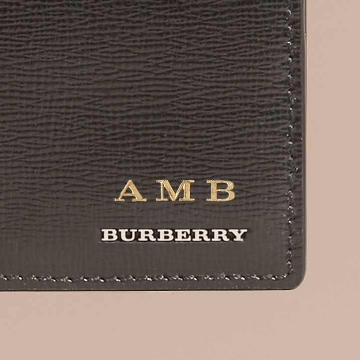 AMB Burberry Leather Wallet $425
